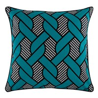 Thomas Paul Knot Pillow Aqua Blue
