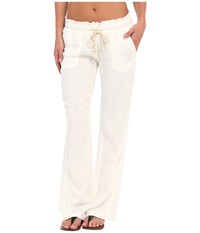 Roxy Ocean Side Pant Sea Salt Casual Pants Multi