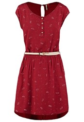 Ragwear Zephie Summer Dress Red