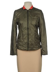 .. Merci Coats And Jackets Jackets Women Military Green