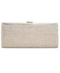 Styleandco. Style And Co. Carolyn Straw Clutch Only At Macy's Metallic S