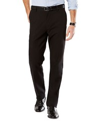 Dockers Straight Fit Flat Front Pants Black