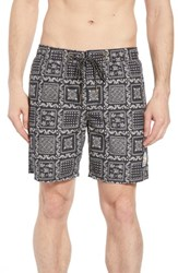 Reyn Spooner Original Lahaina Swim Trunks Black
