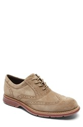 Rockport Men's 'Total Motion Fusion' Wingtip New Vicuna