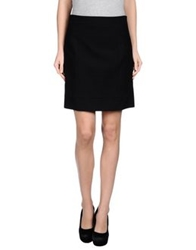Dsquared2 Knee Length Skirts Black