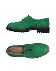 Fiorangelo Lace Up Shoes Green