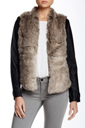 Tart Stacy Faux Fur Panel Jacket
