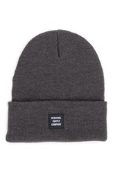 Herschel Women's Supply Co. Abbott Knit Beanie Grey Charcoal