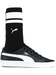 Puma Sock Sneakers Polyamide Polyester Rubber Black