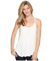 Stetson 0881 Flowy Lite Weight Rayon Tank Top White Women's Sleeveless
