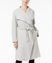 Alfani Wrap Coat Only At Macy's Gray