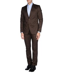 Guess By Marciano Suits And Jackets Suits Men Dark Brown
