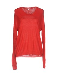 Patrizia Pepe Sweaters Red