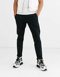 Only And Sons Skinny Fit Chinos In Black