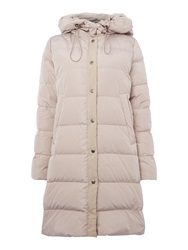 Part Two Full Length Down Filled Coat Brown