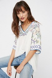 Free People Womens Sunset Lovers Beaded Top