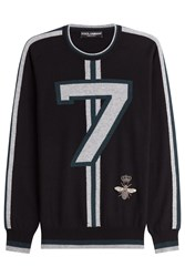 Dolce And Gabbana Cashmere Pullover Black