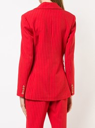 C Meo Collective Fitted Blazer Red