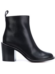 Givenchy Sculpted Heel Ankle Boots Black
