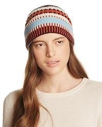 Tory Burch Nova Stripe Beanie Nova Striped Jacquard