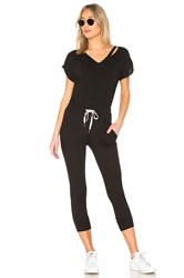 N Philanthropy Space Jumpsuit Black