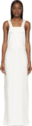 Nomia Ivory Linen Overall Dress