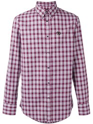Dsquared2 Checked Shirt Men Cotton 46