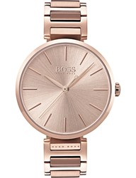Boss 1502418 Allusion Rose Gold Toned Stainless Steel Watch