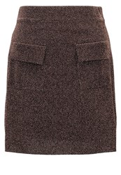 Sister Jane Electric Mini Skirt Brown