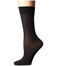 Wolford Romie Knee Highs Black Knee High Hose