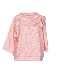 Rose' A Pois Sweaters Coral