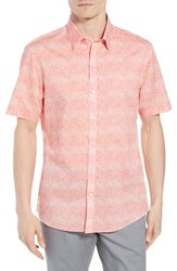 Zachary Prell Regular Fit Woven Shirt Pink