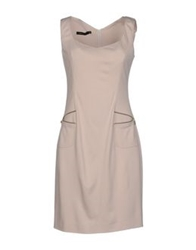 Nuvola Short Dresses Light Grey