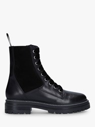 Carvela Sultry Leather Ankle Boots Black