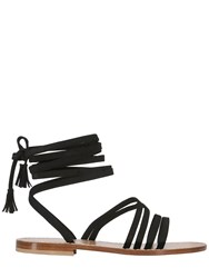 Capri Positano 10Mm Appia Braided Suede Sandals