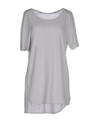I Heart Topwear T Shirts Women Light Grey