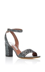 Tabitha Simmons Leticia Heel Silver