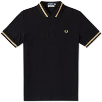 Fred Perry Original Single Tipped Polo Black