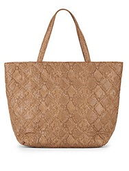 Deux Lux Empress Quilted Tote Camel