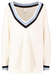 Mbym Kendra Jumper Whisper Off White