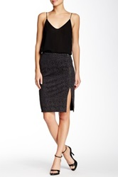 Michael Stars Zip Skirt Gray
