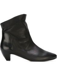 Marsell Marsell Low Chunky Heel Boots Black