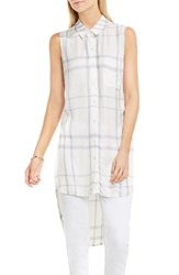 Vince Camuto Women's Plaid Tunic