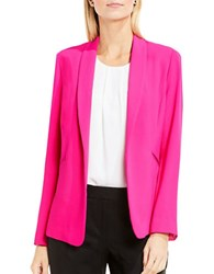 Vince Camuto Shawl Collar Kiss Front Blazer Electric Pink