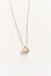 Urban Outfitters Taylor Charm Necklace Gold