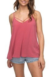Roxy Final Days Tank Top Holly Berry