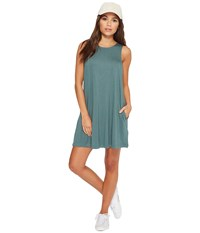 Rvca Tempted Dress Silver Green