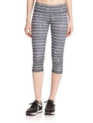 Alo Yoga Spark Arrow Print Capri Leggings