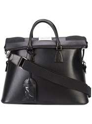 Maison Martin Margiela Top Zip Holdall Black