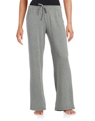 Lord And Taylor Drawstring Sleep Lounge Pants Grey